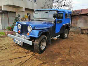 Mavi boncuk 1954 willws(otomobil ruhsatlı)benzin& lpg müyane yeni