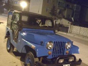Yeni muayeneli jeep willys